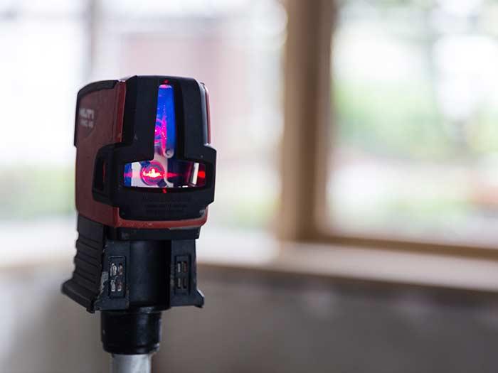 Estrich Experten im Markgräflerland bei Freiburg Dischinger Messung Laser Präzision