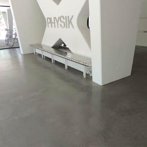 Estrich Experten im Markgräflerland bei Freiburg Dischinger Fußbodenbau Sichtestrich Beispielbild