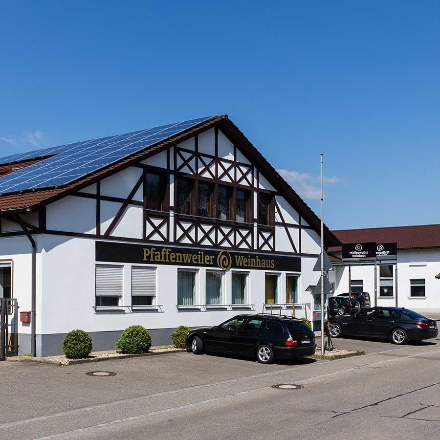 Estrich Experten im Markgräflerland bei Freiburg Dischinger Fußbodenbau Beispiel Weinhaus Pfaffenweiler